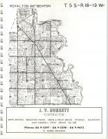 Map Image 015, Berrien County 1964